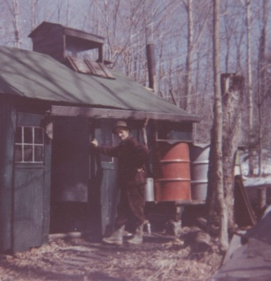 Charlie at the sugar shack, 1962.